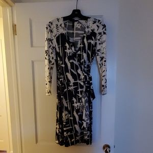 BCBG Max Azria Adele wrap dress